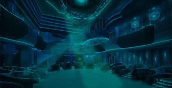 Iluminación en la Sala Pelicano