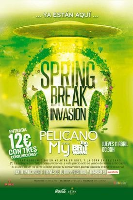 Spring Break Invasion