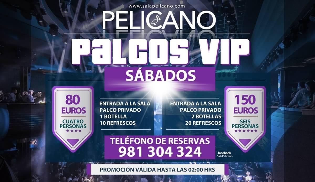 Palcos VIP Sábados