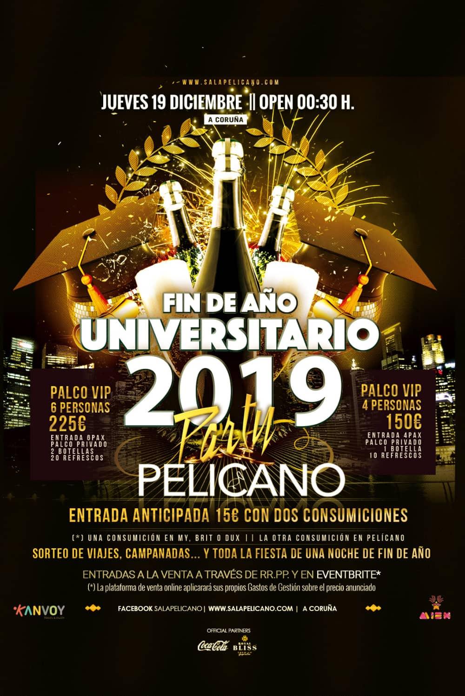 Fin de Año Universitario 2019