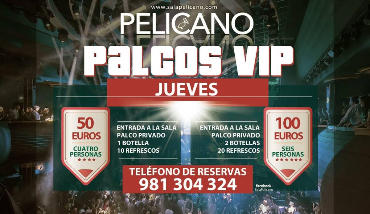 Palcos VIP Jueves