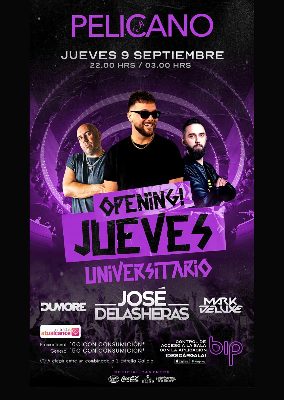 OPENING JUEVES UNIVERSITARIOS